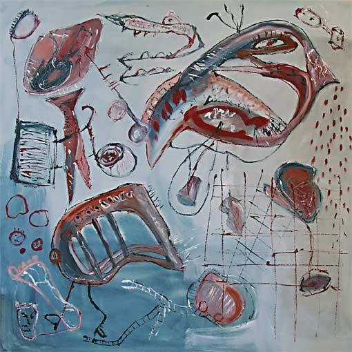 Malerei, Abstrakt, Bahn