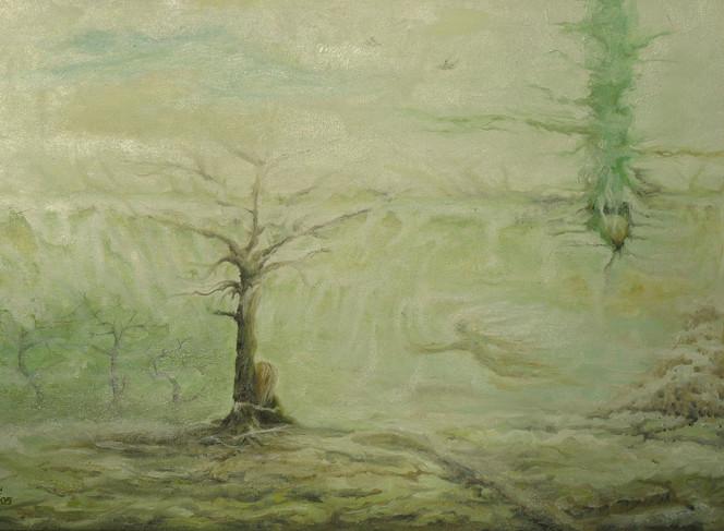 Ölmalerei, Surreal, Malerei