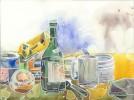 Glas, Heizkörper, Tee, Alltag