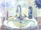 Alltag, Blau, Wasser, Wohnung