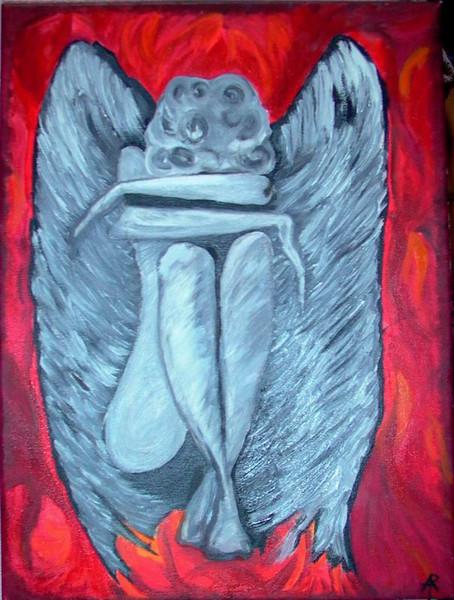 Figural, Malerei, Engel, Ölmalerei