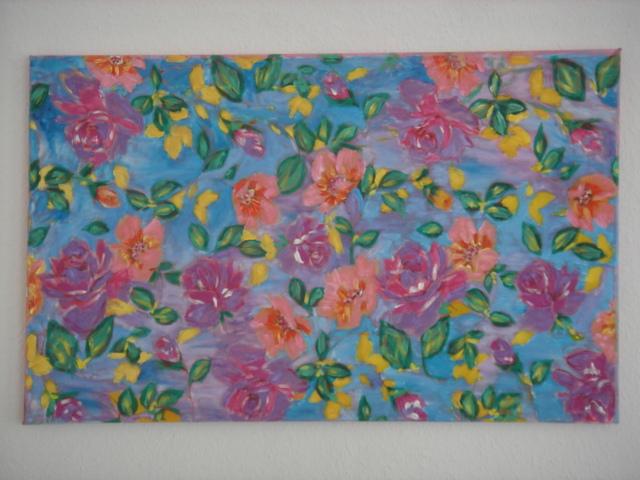 Garten pinnwand garten von ayten bei kunstnet - Pinnwand ausgefallen ...