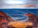 Meer, Felsen, Sand, Strand
