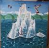 Leuchtturm, Ballon, Surreal, Eis