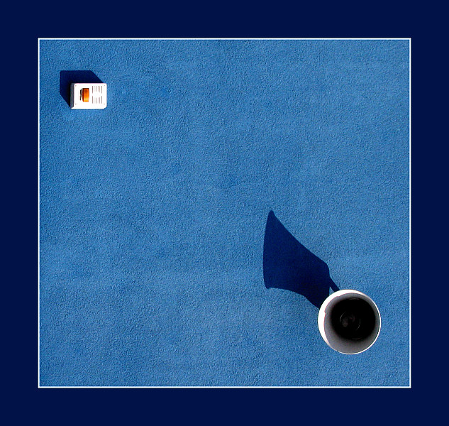 Fotografie, Architektur, Blau
