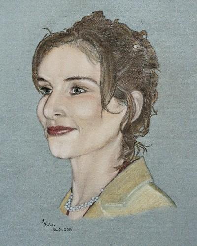 Zeichnung, Portrait, Zeichnungen, Liebe