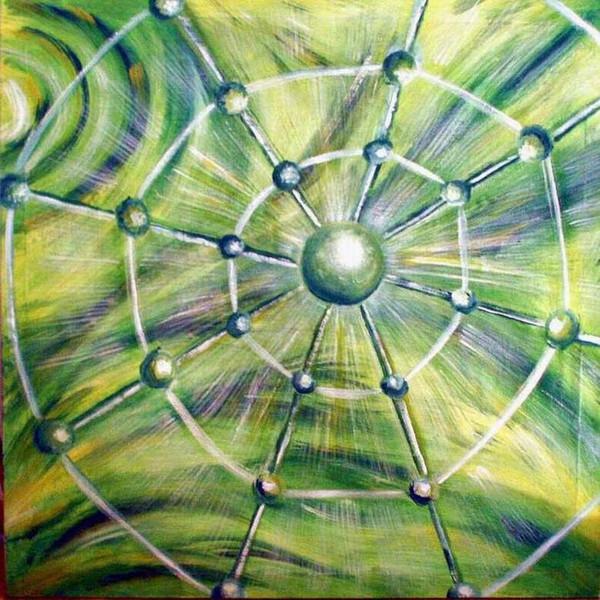 Malerei, Netz