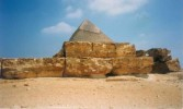 Pyramide, Chephren, Ägypten, Landschaft