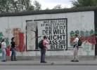 Berlin, Zitat, Mauer, Pinnwand