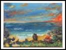 Fantasie, Malerei, Sonnenuntergang