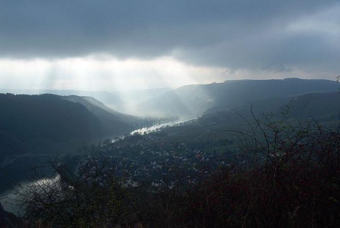 Wintersonne, Fotografie, Landschaft, Moselschleife, Kröv