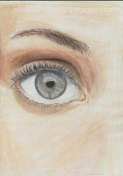 Augen, Portrait, Zeichnung, Zeichnungen