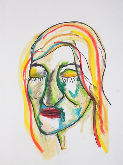 Zeichnung, Zeichnungen, Ruhe