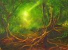 Traum, Auwald, Pflanzen, Landschaft
