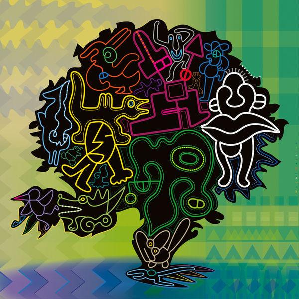 Kreaturen, Gewimmel, Bewegung, Grafik, Lebensbaum, Einheit