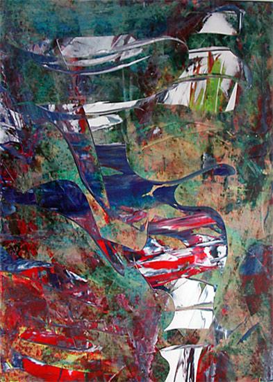 Abstrakt, Malerei, Fantasie