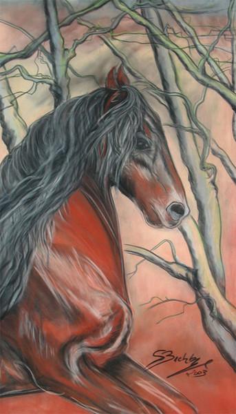 Malerei, Pferde, Tiere