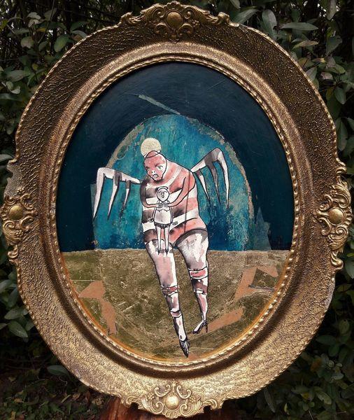 Sakralkunst, Engel, Teufel, Malerei