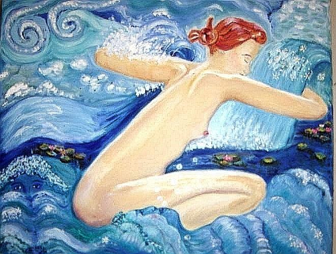 'Wasserfrau
