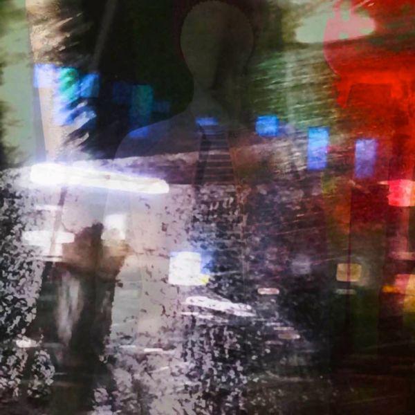 Schatten, Licht, Gestalt, Nacht, Digitale kunst