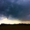 Wolken, Regenankündigung, Drachenflug, Silhouetten