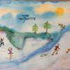Menschen, Winterfreuden, Schnee, Eis