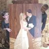 Hochzeit, Brautpaar, Marketerie, Alles holz