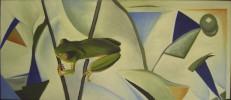 Malerei, Frosch