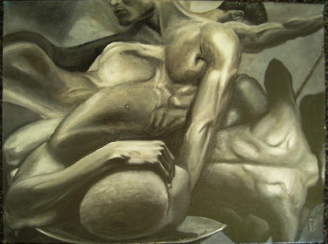 Stillleben, Horror, Horror oder erotic, Malerei