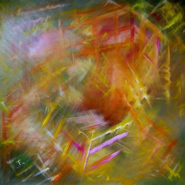 Malerei, Abstrakt, Dynamik