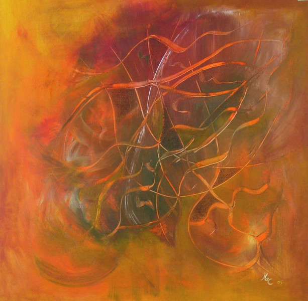 Farben, Abstrakt, Malerei, Ausspannen, Entspannung, Acrylmalerei