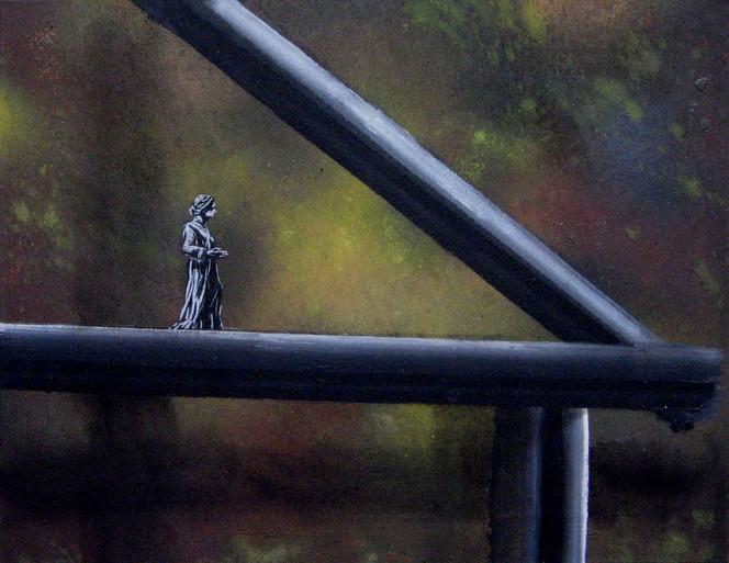Figural, Malerei, Gruß