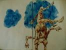 Akt, Zeichnung, Zeichnungen, Studie