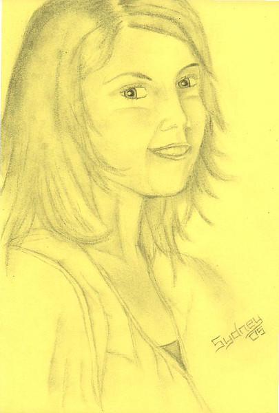 Portrait, Gelb, Äähm, Zeichnung, Zeichnungen,