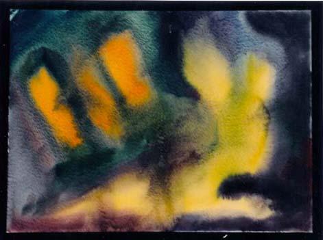 Abstrakt, Farben, Malerei, Formen, Osterhase,