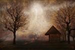 once upon a time - weihnachten weihnachtsgeschichte surreale landschaft