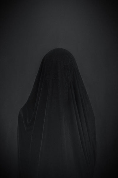 Frau, Portrait, Monochrom, Fotografie
