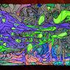 Acrylmalerei, Mischtechnik, Fluoroamphetamine, Malerei