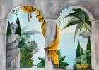 Trompe, Illusionsmalerei, Wandmalerei, Loeil