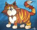 Malerei, Katze