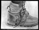 Schuhe, Stiefel, Zeichnung, Zeichnungen