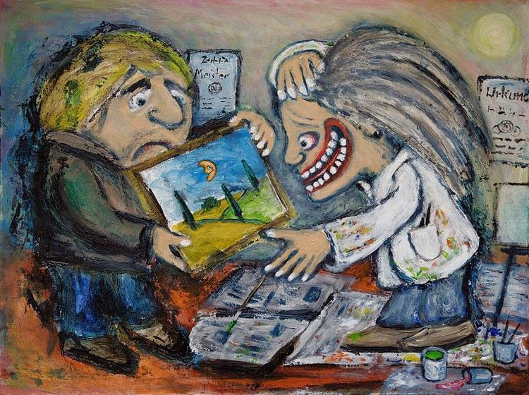 Hoffnung, Kritik, Malerei,