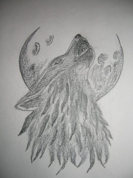 wolfsmond wolf mond zeichnung zeichnungen von. Black Bedroom Furniture Sets. Home Design Ideas