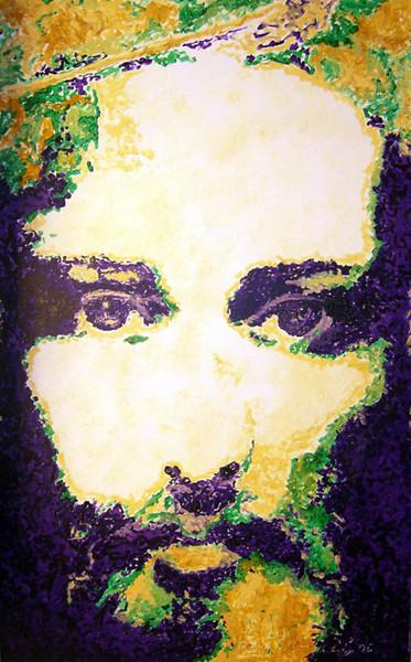Malerei, Figural, Gesicht,