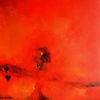80 x80, Rot, Natur, Malerei