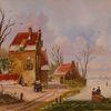 Holländische malerei, Romantik, Zeitgenössischer maler, Himmel