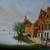 Holländische malerei, Landschaft sommer, Wasser, Gemälde