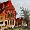 Gemälde, Zeitgenössisch, Holländische malerei, Gracht