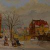 Gemälde, Romantik, Holland, Zeitgenössisch