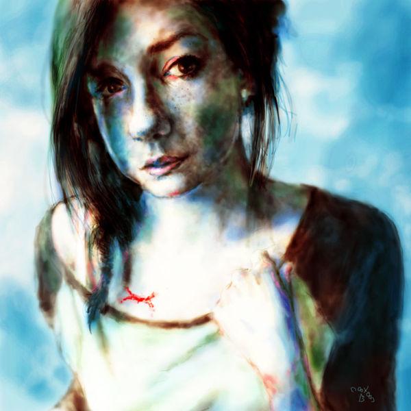 Juls, Portrait, Hyperreal, Deutschland, Surreal, Zeichnung